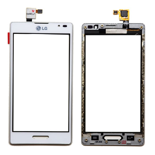 LG Optimus L9(P760) Touch Screen Frame Assembly(White ...